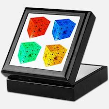 Multi Menger sponge fractal Keepsake Box