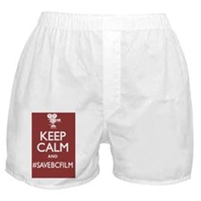 Kep Calm and Save BC Film (Full) Boxer Shorts