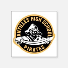 "Antilles HS Pirates Square Sticker 3"" x 3"""