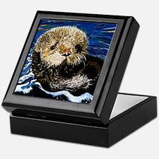 Sea Otter Keepsake Box