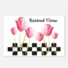 Retired Nurse A Postcards (Package of 8)
