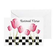 Retired Nurse A Greeting Card