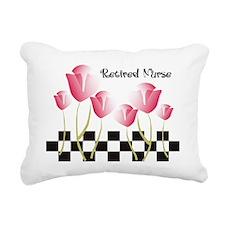 Retired Nurse A Rectangular Canvas Pillow