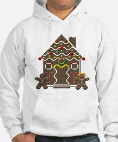 Cute Gingerbread House Hoodie
