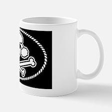 Poodle Pirate -bw -OV Mug