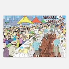 Market Festival Postcards (Package of 8)