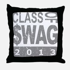 Class Of $WAG 2013 Throw Pillow