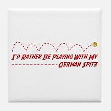 Spitz Play Tile Coaster