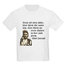 Treat all men alike T-Shirt