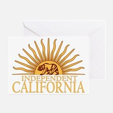 Independent California 2012 Greeting Card