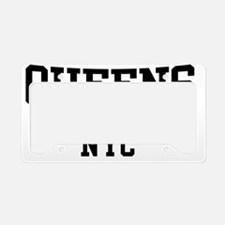 Queens NYC License Plate Holder
