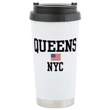 Queens NYC Travel Mug