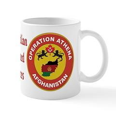 Masonic Canadian Armed Forces - Afghanistan Mug