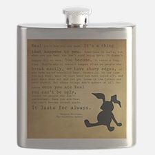 Velveteen Rabbit Print Flask