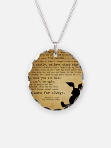Velveteen Rabbit Print Necklace