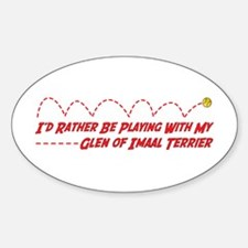 Glen Play Oval Decal