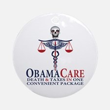Obamacare Ornament (Round)