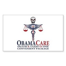 Obamacare Decal