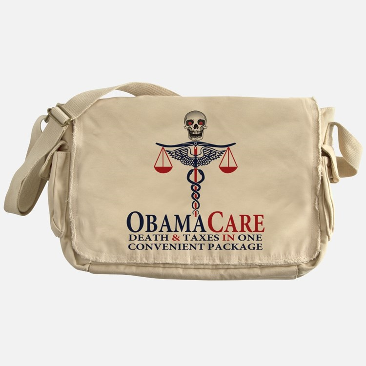 Obamacare Messenger Bag