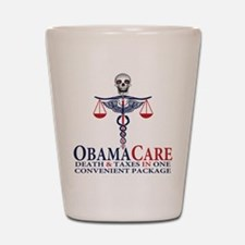 Obamacare Shot Glass