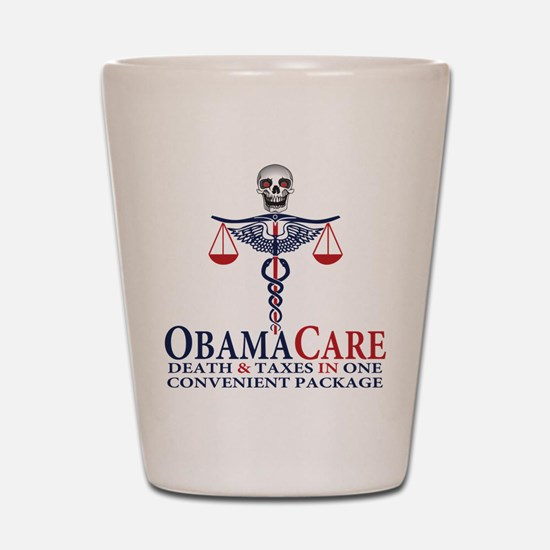 Obamacare Shot Glass