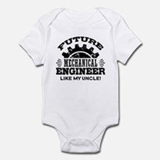 Future Mechanical Engineer Lik Baby Light Bodysuit