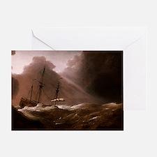 A Dutch Ship Greeting Card