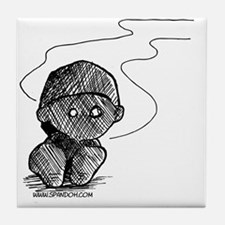 Burnout Tile Coaster