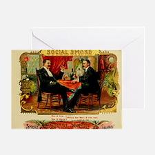 Cigar label Shirts Greeting Card