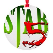Stab 5 Ornament