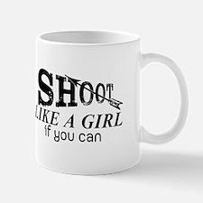 Shoot Like A Girl Archery Mugs