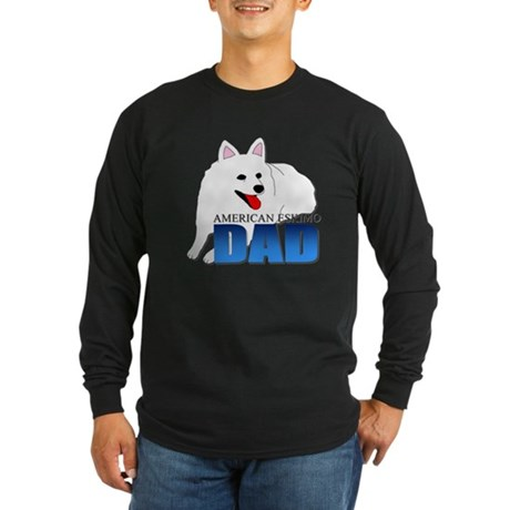 American Eskimo Dog Long Sleeve Dark T-Shirt