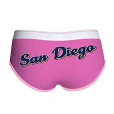 San Diego California Women's Boy Brief
