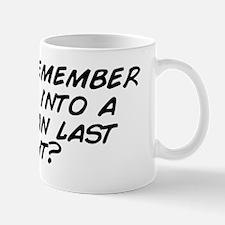 Do you remember getting into a Delorean Mug