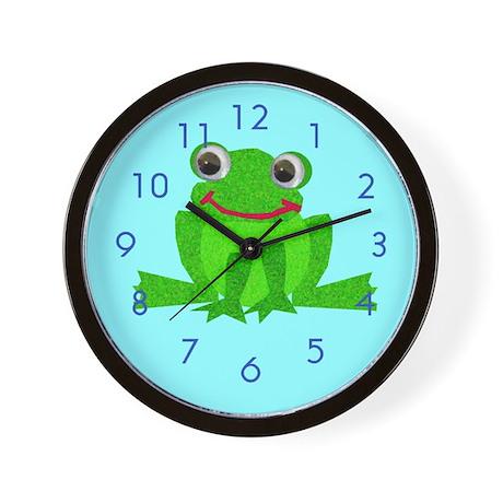 Little Froggy Wall Clock