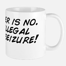 The answer is no. Its an illegal search Mug