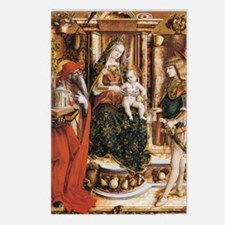Carlo Crivelli Madonna Postcards (Package of 8)