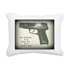 2nd Amendment Supporter Rectangular Canvas Pillow