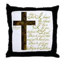 Plan of God Jeremiah 29:11 Throw Pillow