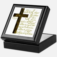 Plan of God Jeremiah 29:11 Keepsake Box