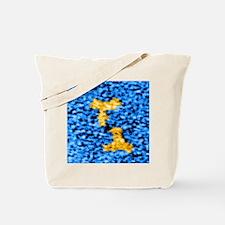 Immunoglobulin G antibodies, TEM Tote Bag