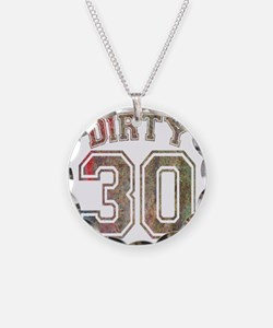 Dirty 30 Grunge 3 Necklace