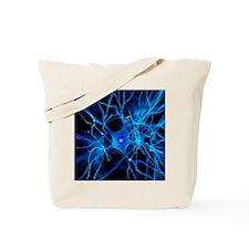 Nerve cell, artwork Tote Bag