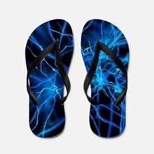 Nerve cell, artwork Flip Flops
