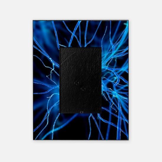 Nerve cell, artwork Picture Frame