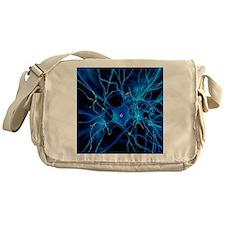 Nerve cell, artwork Messenger Bag