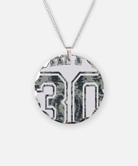 Dirty 30 Grunge 2 Necklace