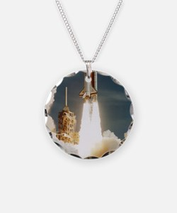 Launch of shuttle mission ST Necklace