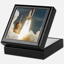 Launch of shuttle mission STS-70, Jul Keepsake Box