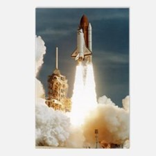 Launch of shuttle mission Postcards (Package of 8)